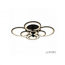 Потолочная люстра Ring A001/8 BK