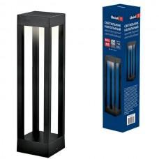 Наземный светильник ULU-T06A-10W/3000K IP65 BLACK