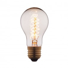 Лампа накаливания E27 60W прозрачная 1004