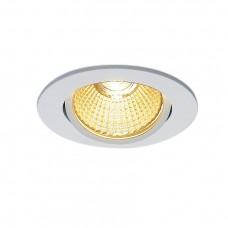 Встраиваемый светодиодный светильник SLV New Tria 68 Led Round Set 114381