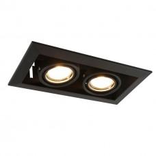 Встраиваемый светильник Arte Lamp Cardani Piccolo A5941PL-2BK