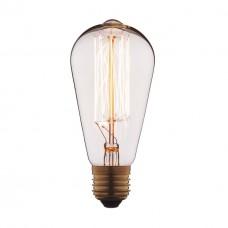 Лампа накаливания E27 40W прозрачная 1007