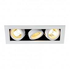 Встраиваемый светильник SLV Kadux 3 GU10 115531