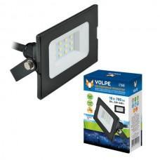 Прожектор уличный ULF-Q513 10W/DW IP65 220-240В BLACK картон