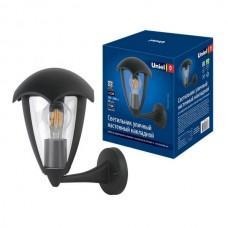 Настенный фонарь уличный UUL-S80A 60W/E27 IP54 BLACK