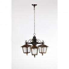 Уличный светильник подвесной 15970/3 Gb